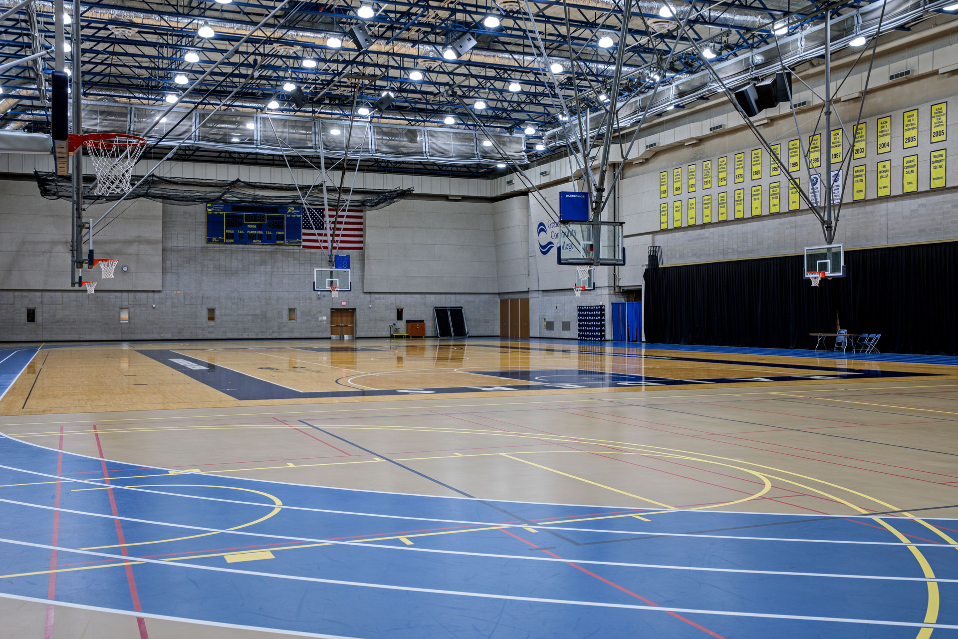 GRCC Ford Fieldhouse Gymnasium