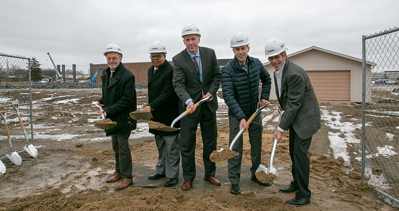 Schoolcraft St. Joe's Mercy Elite Sports Center Groundbreaking